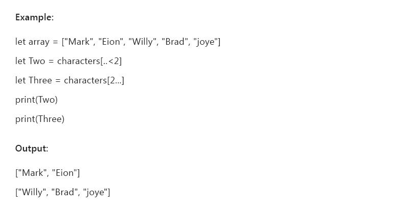 swift 4 programming language pdf