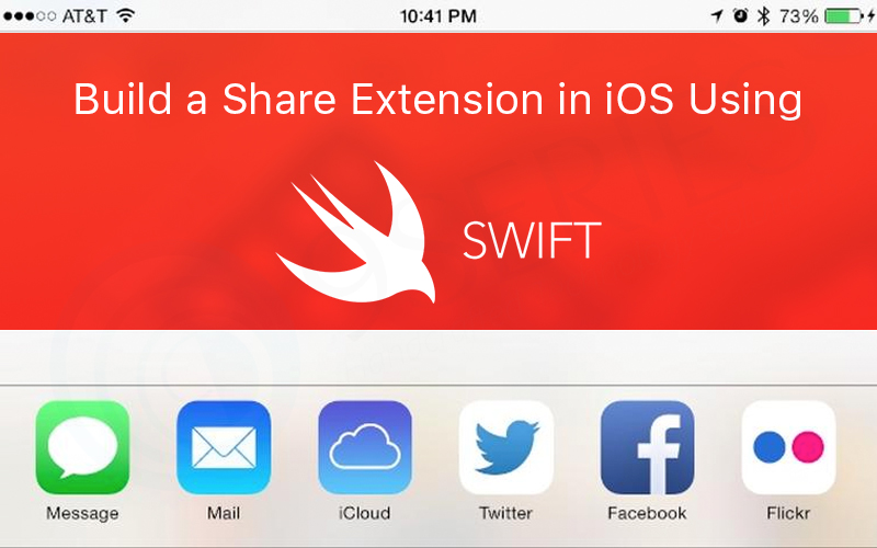 Build a Share Extension in iOS Using Swift