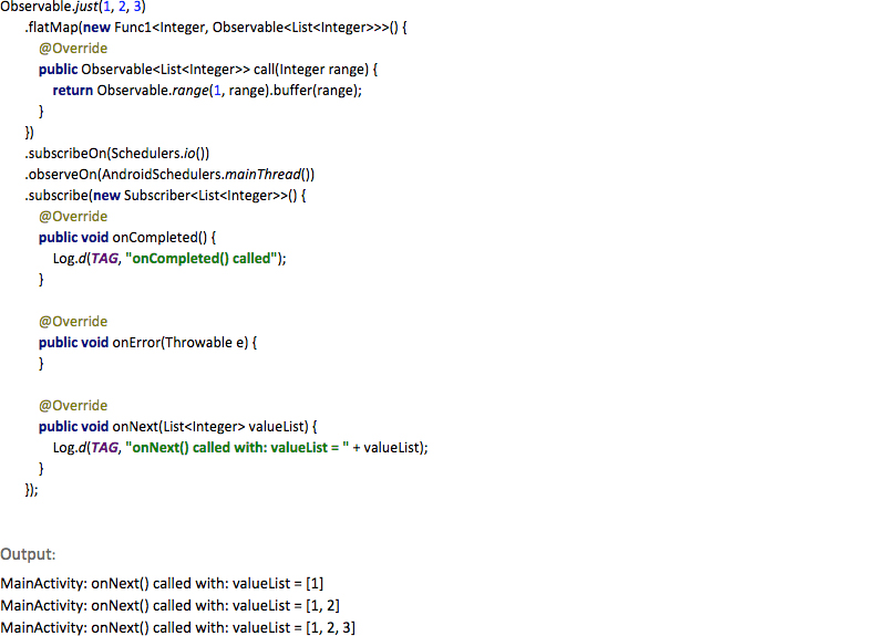 Introduction to RxJava - RxAndroid 9series solutions