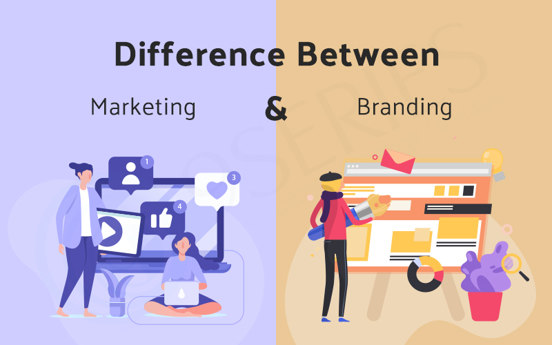 Difference Between Marketing & Branding 9series solutions